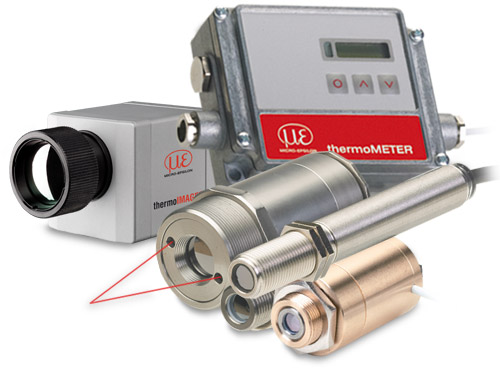 Infrared sensors for non contact temperature measurement