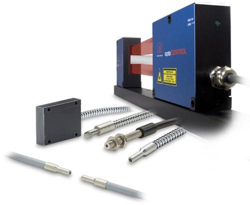 Optical Micrometers to measure diameter, gap, edge or opacity