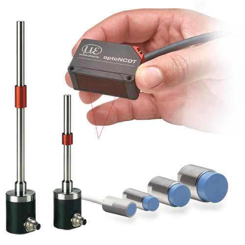 Sensors for displacement, distance and position