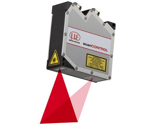 Laser-Scanner for precise 2D/3D measurements