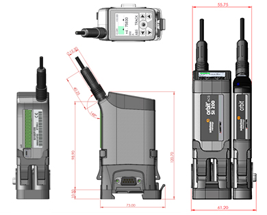 Digital Gauging Probe Spring Push DPS
