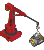 Manufacturing - Portable Crane Weighing