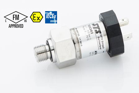 Intrinsically Safe Pressure Transmitters - FM/FMc Certified