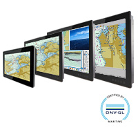 ECDIS Marine Panel PC and Display